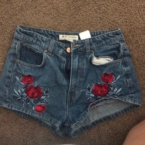 H&M Coachella collection Jean Short Shorts